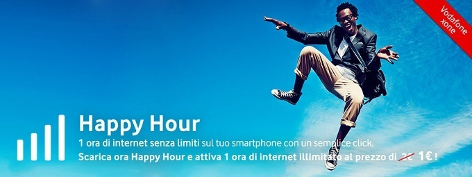 vodafone happy hour
