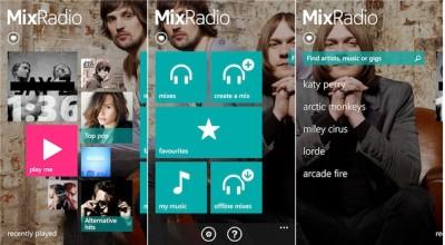 MixRadio App