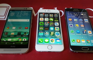 Samsung Galaxy S6 VS iPhone 6 VS HTC ONE M9 2015-05-31 11.36.31