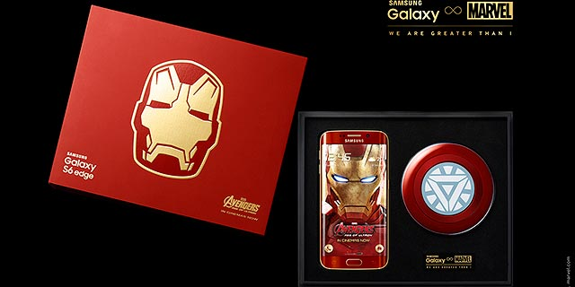 Samsung Galaxy S6 EDGE Iron Man Limited Edition