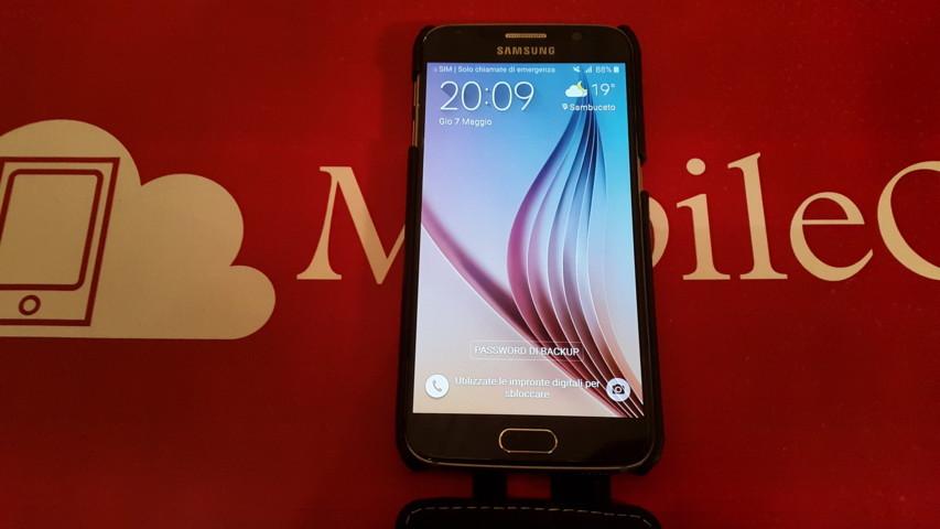 Video Prova Custodia Samsung Galaxy S6 Stilgut UltraSim in Pelle 2015-05-07 20.09.20
