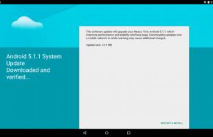 Aggiornamento Google Nexus 10