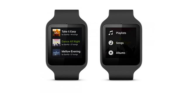 Spotify per Android Wear