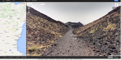 Visitare l' Etna con un'app