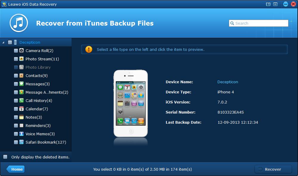 Come Recuperare dati cancellati da iPhone iPad iPod touch senza problemi