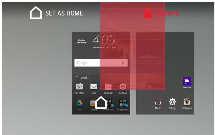 Come Rimuovere BlinkFeed in HTC One M9