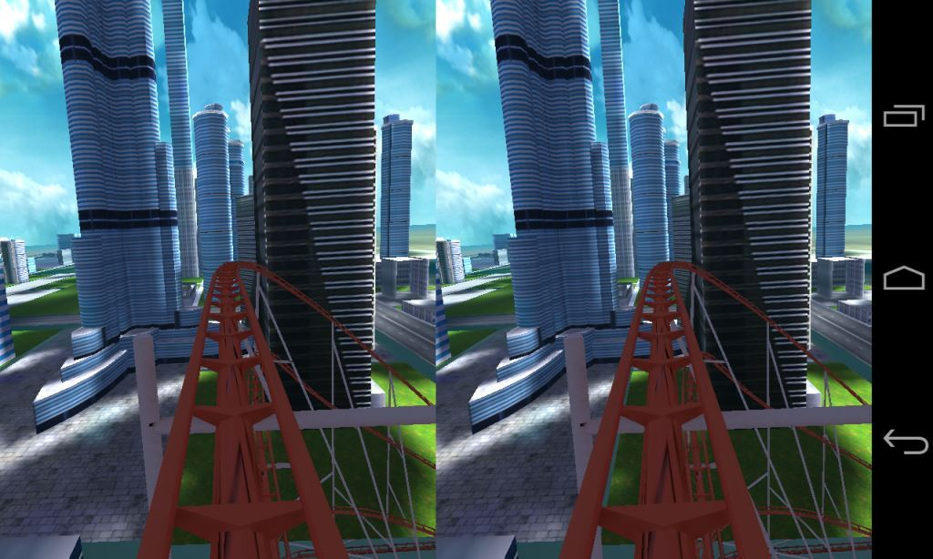 Dive City Rollercoaster  2