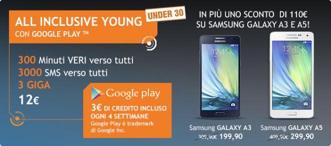 Ecco la Nuova All Inclusive Young di Wind con 3€ al mese in Regalo sul Play Store