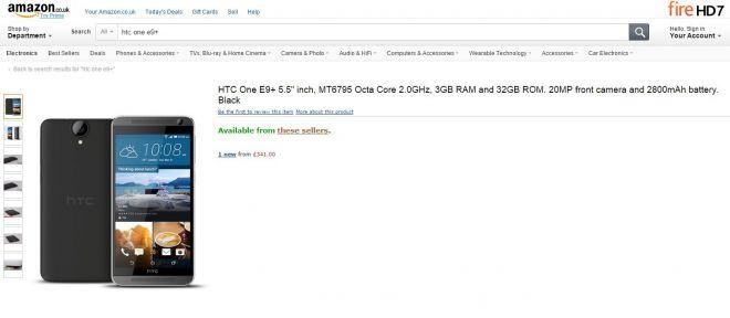 HTC One E9+-1