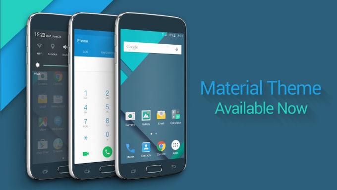 Material Design Samsung Galaxy S6