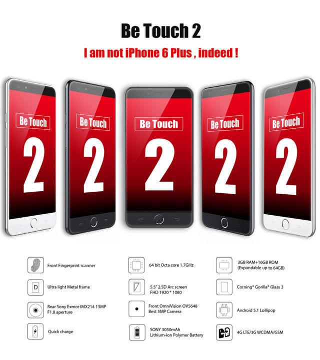 Offerta Ulefone Be Touch 2