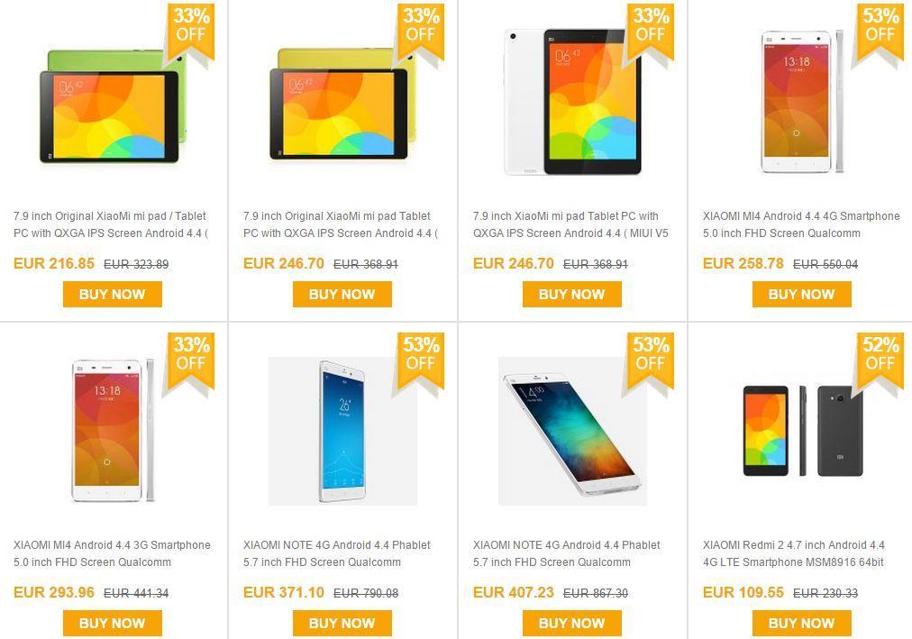 Offerte Xiaomi