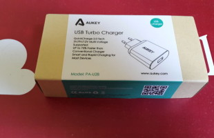 Prova del Caricatore usb a muro Quick Charge 2.0 ricarica rapida Qualcomm by Aukey 20150619_131512