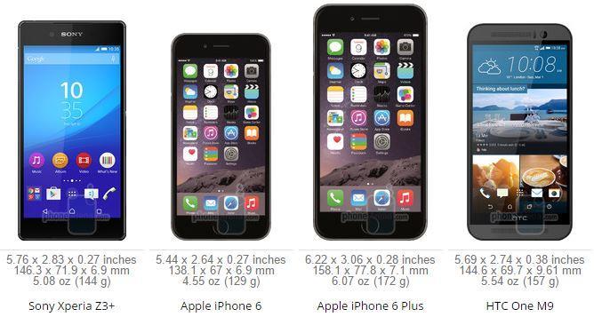 Sony Xperia Z3+ VS iPhone 6 VS Samsung Galaxy S6 VS HTC ONE M9 ScreenShot006