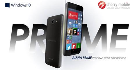 Windows-10-Cherry-Mobile-01 Smartphone Windows 10