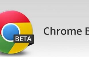 aggiornamento google chrome beta