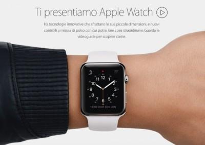 ti presentiamo apple watch