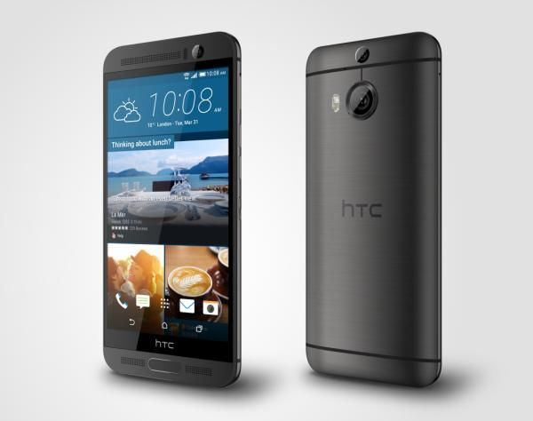 HTC One M9+_PerLeft_GunMetalGray