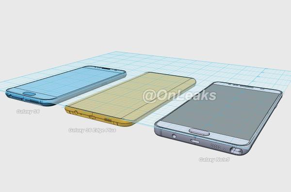Debutto Samsung Galaxy Note 5