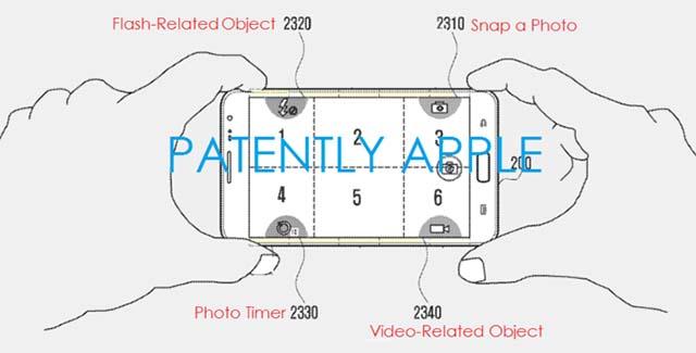 tasti invisibili, samsung, brevetto