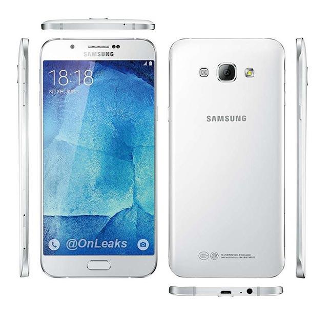 Immagini Samsung Galaxy A8