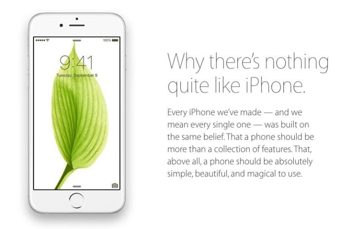perché non c'è niente come iphone