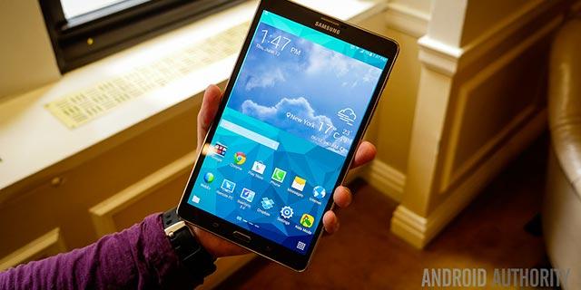 Aggiornamento Samsung Galaxy Tab S 8.4