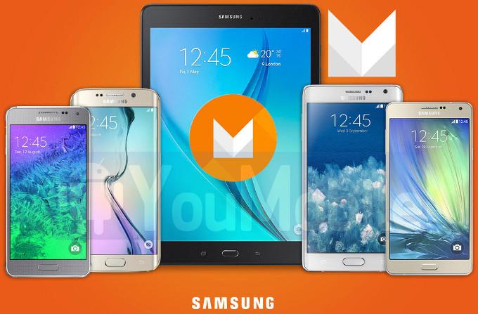 Aggiornamento Android M smartphone samsung