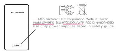 HTC FCC