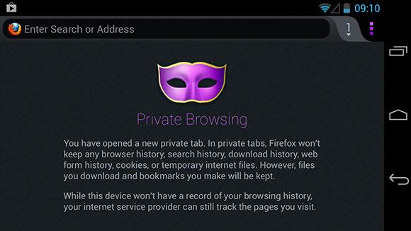 Privacy Firefox