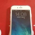 Video Prova Custodia FlexiShield per iPhone 6 - Bianco Trasparente 2015-08-11 14.08.20