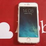 Video Prova Custodia FlexiShield per iPhone 6 - Bianco Trasparente 2015-08-11 14.08.27
