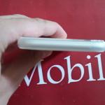 Video Prova Custodia FlexiShield per iPhone 6 - Bianco Trasparente 2015-08-11 14.08.36