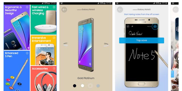 Galaxy Note 5 Experience