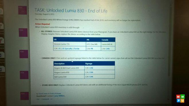 lumia830 device