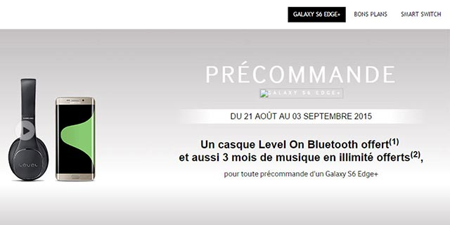Debutto Samsung Galaxy S6 EDGE Plus