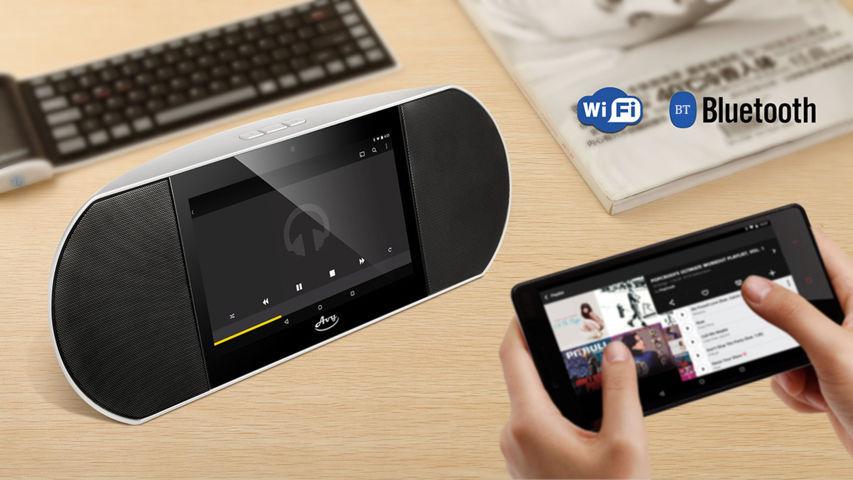 smart Speaker Bluetooth con display 7 incorporato