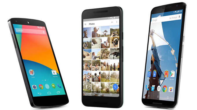 Google Nexus 5X vs Samsung Galaxy S6 vs Sony Xperia Z5
