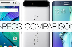 Google Nexus 6P vs Motorola Moto X Style vs Samsung Galaxy S6 Edge Plus