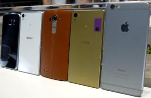 Xperia Z5 vs iPhone 6 Plus vs Galaxy S6 vs Sony Xperia Z3 vs LG G4 Fotocamere a Confronto