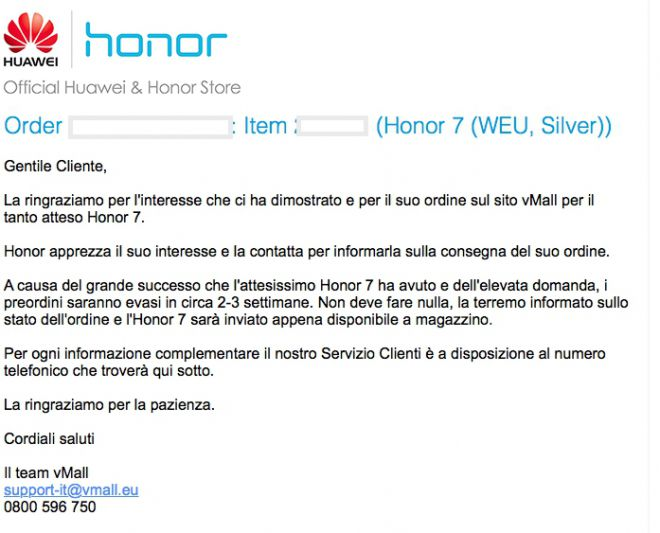 honor 7 device