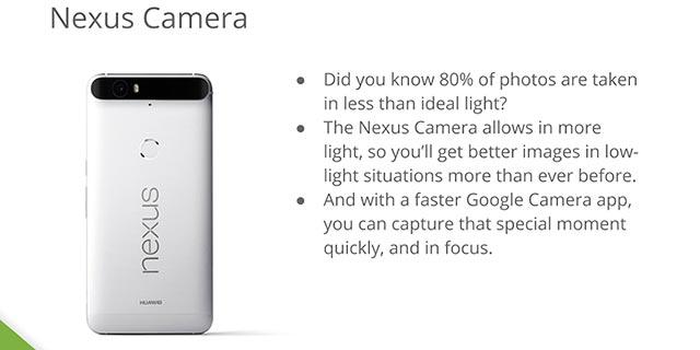 Fotocamera Huawei Nexus 6P