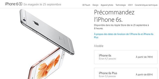 Pre-Ordini iPhone 6S e 6S Plus
