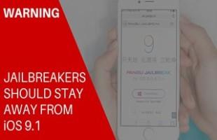 Attenzione, Jailbreak incompatibile con iOS 9.1