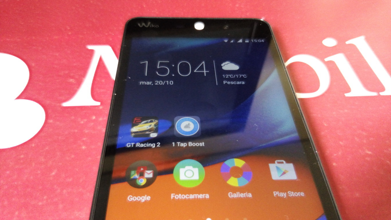 Recensione Wiko Rainbow Up IMG_20151020_150454