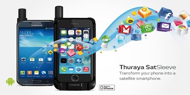 Smartphone satellitare