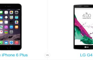 iPhone 6s Plus vs LG G4