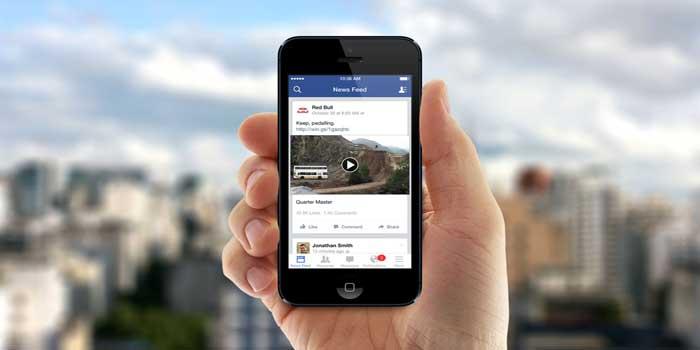 Sezione video Facebook