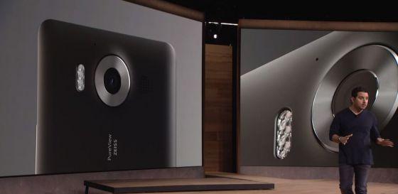 fotocamera lumia 950 xl