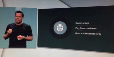 Play Store Android 6 Sensore di impronte per comprare sul Play Store